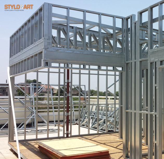 Steel Frame no Brasil